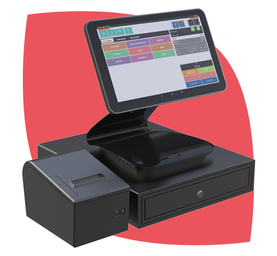 Fully Integrated Point of Sale System