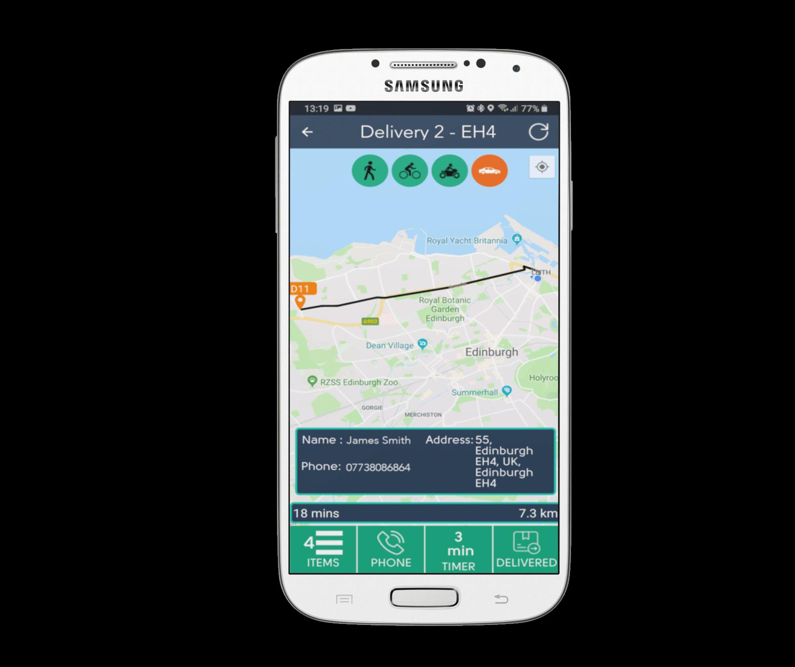 ePOS Hybrid Driver App