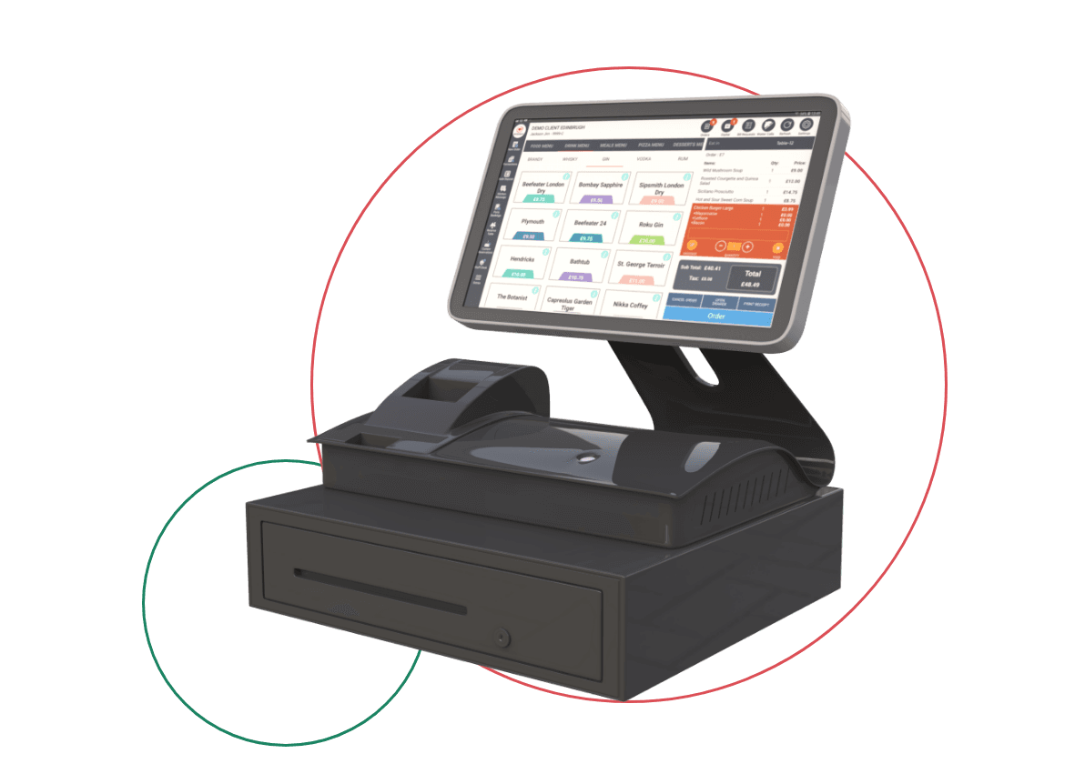 Powerfull EPOS System Connect to Self Checkout