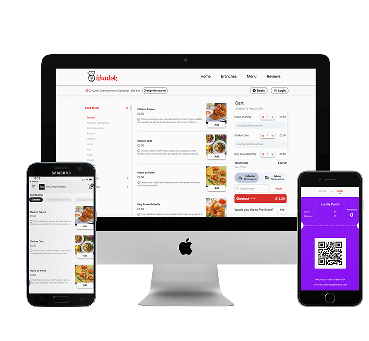 Online and Mobile App Ordering