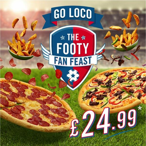 dominos pizza - football advert